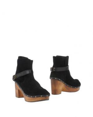 Полусапоги и высокие ботинки ALMALA. Цвет: черный