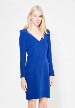 Платье Mango. Цвет: синий