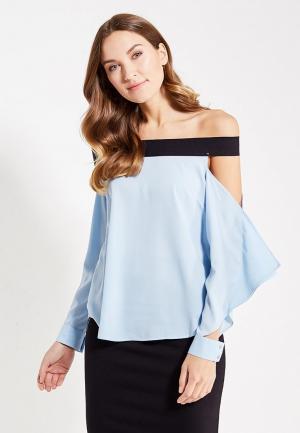 Блуза Paccio. Цвет: голубой