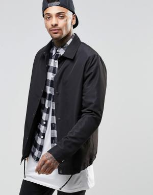 ASOS Черная спортивная куртка. Цвет: черный