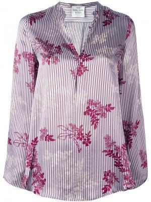 Рубашка Japanese Garden Forte. Цвет: розовый и фиолетовый