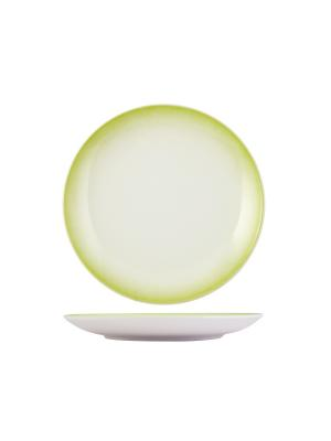 Набор тарелок обеденных ЛАЙМ H&H. Цвет: белый