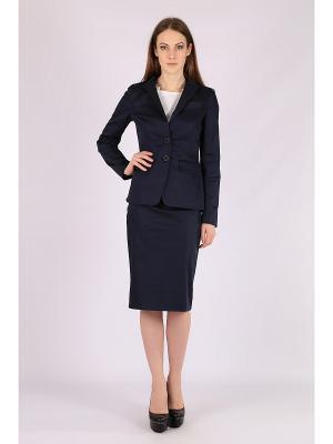 Пиджак FLEURETTA. Цвет: синий