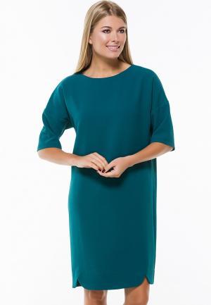 Платье Remix. Цвет: бирюзовый