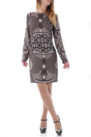 Платье Cristina Gavioli. Цвет: khaki
