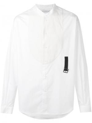 Contrast bib shirt J.W.Anderson. Цвет: белый