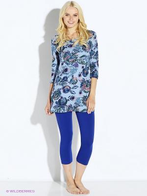 Пижама PELICAN. Цвет: синий, голубой