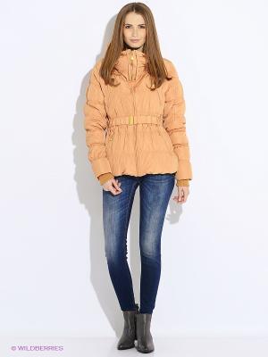 Куртка U.S. Polo Assn.. Цвет: оранжевый