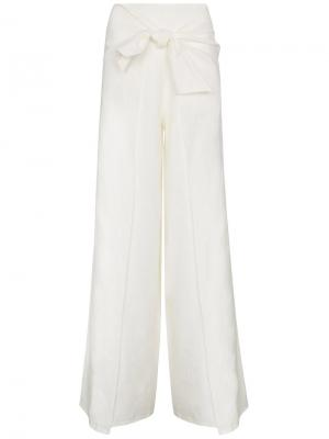 Расклешенные брюки Monterrey Johanna Ortiz. Цвет: телесный