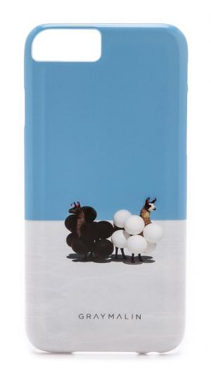 Чехол Llamas для iPhone 6 Gray Malin