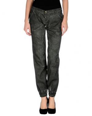 Повседневные брюки TAKE-TWO. Цвет: темно-зеленый