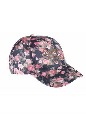 Бейсболка Heine. Цвет: розовый/черный