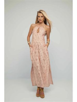 Пляжный сарафан Milliner. Цвет: розовый
