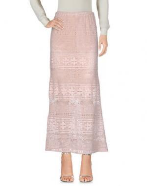 Длинная юбка TEMPTATION. Цвет: розовый