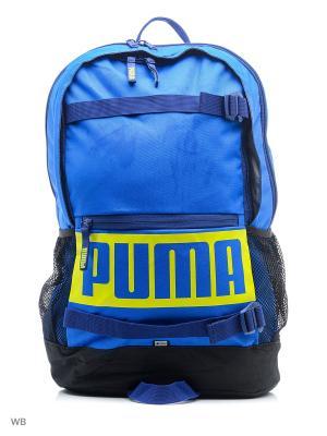 Рюкзак Deck Backpack PUMA. Цвет: голубой