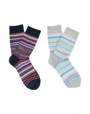 Короткие носки BURLINGTON. Цвет: светло-серый