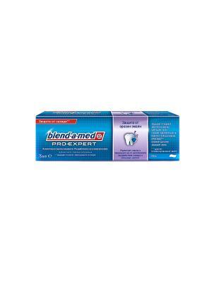 Зубная паста Pro-expert Защита эрозии эмали, Мята, 75 мл BLEND_A_MED. Цвет: голубой