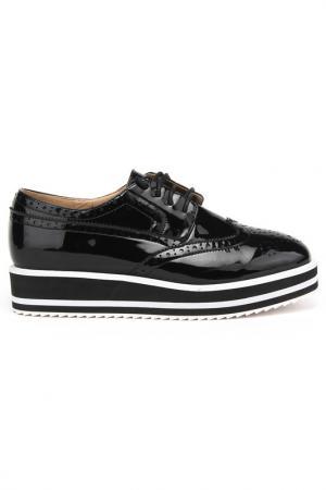 Ботинки CESARE CORRENTI. Цвет: черный