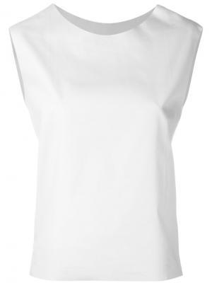 Блузка Snar Aries. Цвет: белый