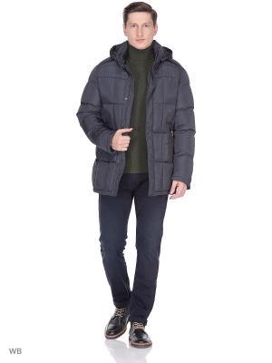 Куртка SNOWIMAGE. Цвет: темно-серый