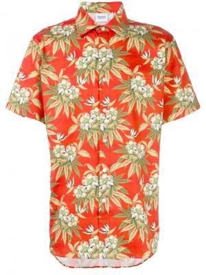 Рубашка с короткими рукавами Vice Sss Word Corp. Цвет: жёлтый и оранжевый