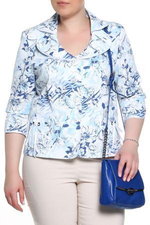 Жакет BERKLINE. Цвет: бело-голубой