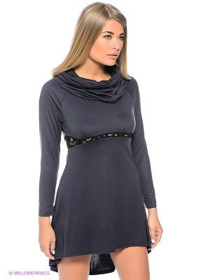 Платье Sport Vision. Цвет: темно-синий
