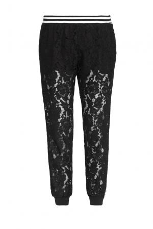 Кружевные брюки 163303 Cristina Effe. Цвет: черный