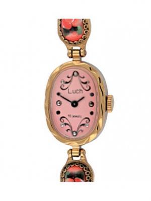 Часы наручные ЛУЧ.. Цвет: розовый
