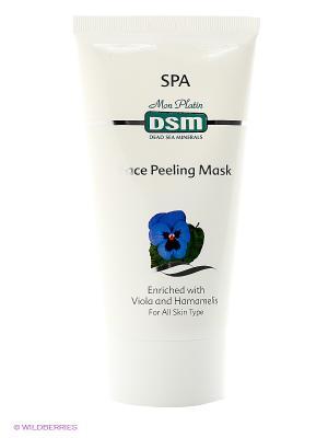 Маска-пилинг для лица, 150 мл Mon Platin DSM. Цвет: белый