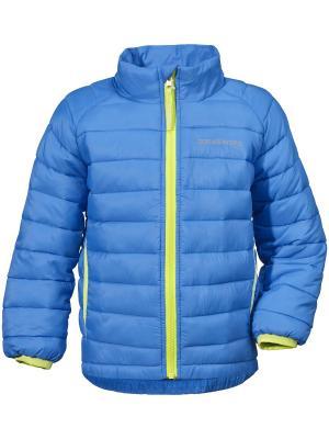 Куртка UMLALI DIDRIKSONS. Цвет: лазурный