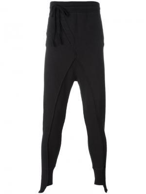 Спортивные брюки Thom Krom. Цвет: чёрный