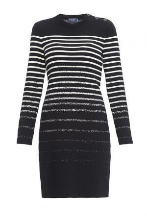 Платье из шерсти 170679 Saint James. Цвет: разноцветный