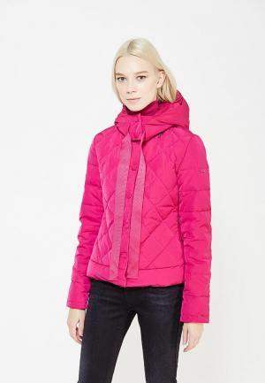 Пуховик Armani Jeans. Цвет: розовый