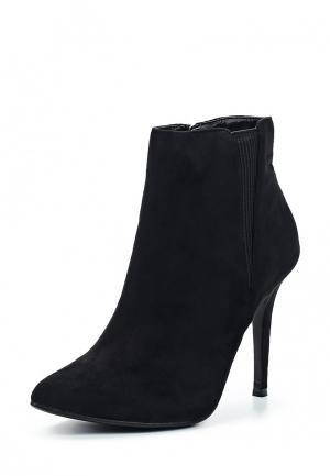Ботильоны WS Shoes. Цвет: черный