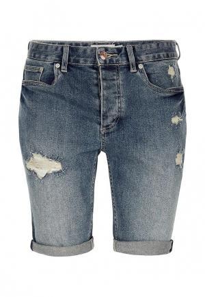 Шорты джинсовые Topman 33C16NBLE