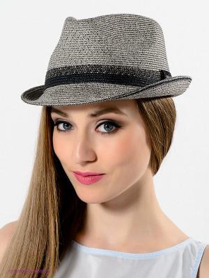 Шляпа Bailey. Цвет: серый, светло-коричневый