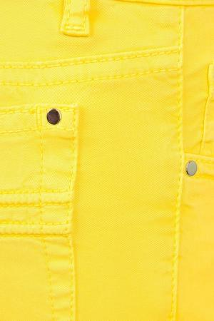 Хлопковые брюки il Gufo. Цвет: желтый