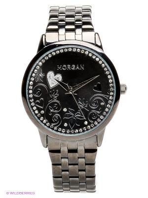 Часы Morgan. Цвет: черный