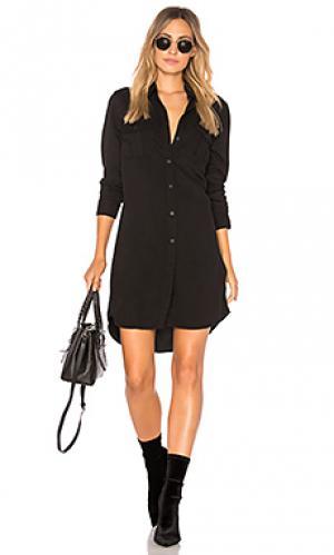 Платье jett Obey. Цвет: черный