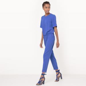 Комбинезон с брюками La Redoute Collections. Цвет: зеленый,охра,черный