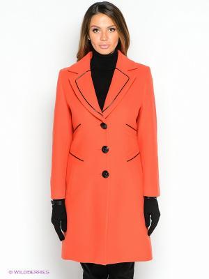 Пальто TOPSANDTOPS. Цвет: оранжевый