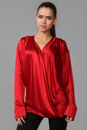 Блуза Balmain. Цвет: красный