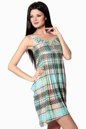 Платье Aftershock. Цвет: multi