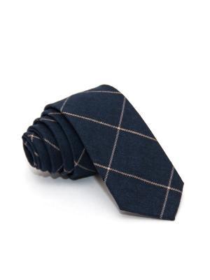 Галстук Churchill accessories. Цвет: темно-синий, синий, темно-коричневый, темно-бордовый, бордовый, коричневый