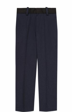 Хлопковые брюки со стрелками Marc Jacobs. Цвет: синий