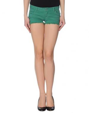 Повседневные шорты GOLD CASE. Цвет: зеленый