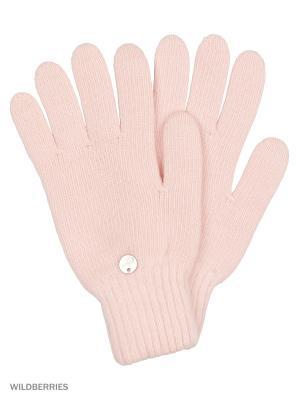 Перчатки Vittorio Richi. Цвет: розовый