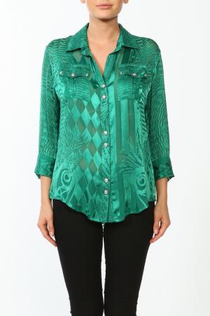 Блуза Balmain. Цвет: зеленый