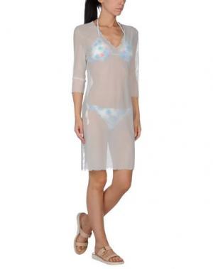 Пляжное платье DOMANI. Цвет: небесно-голубой